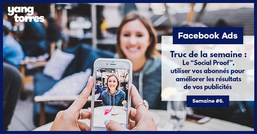 6. Le « Social Proof » : Utiliser vos abonnés pour avoir plus de fans sur Facebook